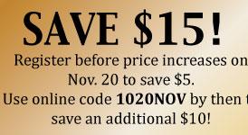 Save $15
